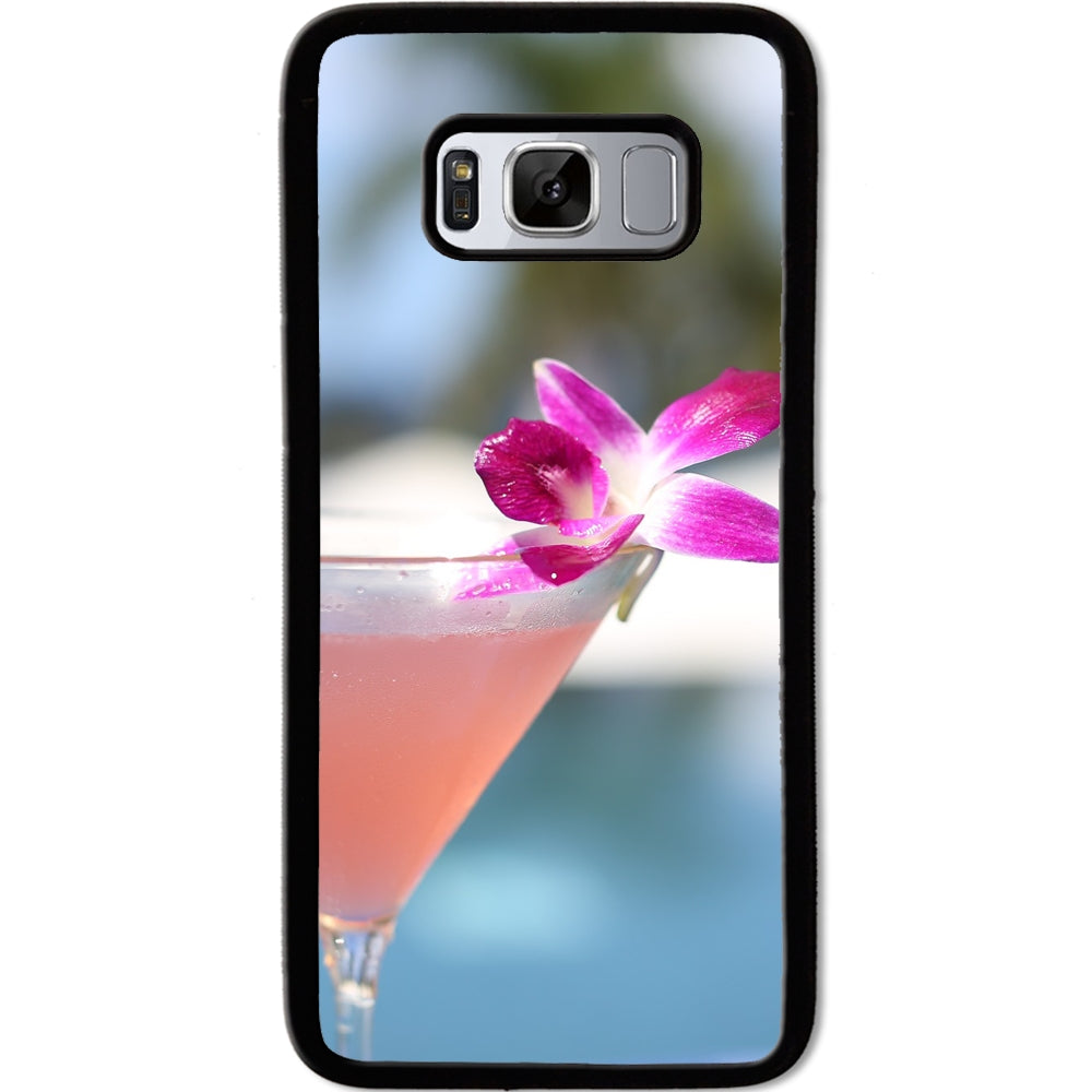 Fits Samsung Galaxy S8 - Island Cocktail Case Phone Cover Y01308