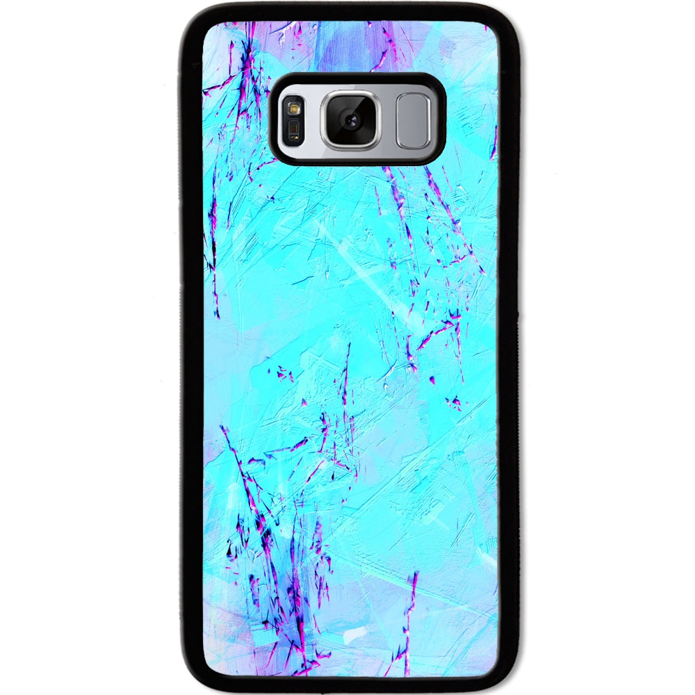 Fits Samsung Galaxy S8 - Teal Layers Case Phone Cover Y01431