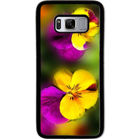 Fits Samsung Galaxy S8 - Yellow Pansy Case Phone Cover Y01471