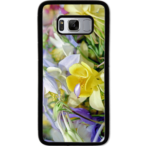 Fits Samsung Galaxy S8 - Yellow Wild Flower Case Phone Cover Y01477