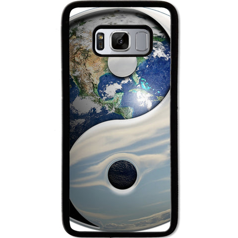 Fits Samsung Galaxy S8 - Yin Yang Earth Case Phone Cover Y01482