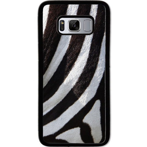Fits Samsung Galaxy S8 - Zebra Fur Case Phone Cover Y01492