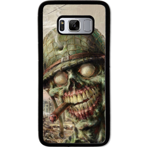 Fits Samsung Galaxy S8 - Zombie Soldier Case Phone Cover Y01495