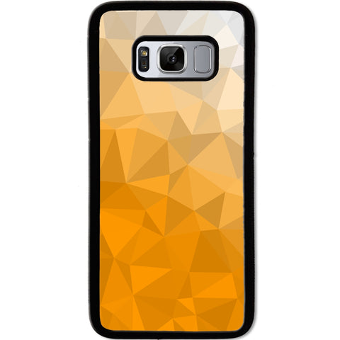 Fits Samsung Galaxy S8 - Yellow Texture Case Phone Cover Y01603