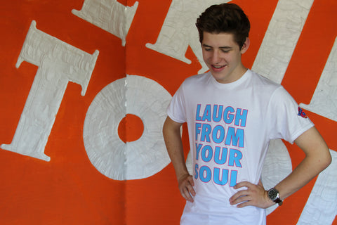 LAUGH FROM YOUR SOUL - Men's T-Shirt
