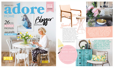 Adore Home Magazine - Australia Apr/May 2015