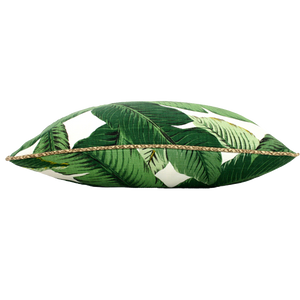 GREEN PALM - SQUARE  Euro/63cm
