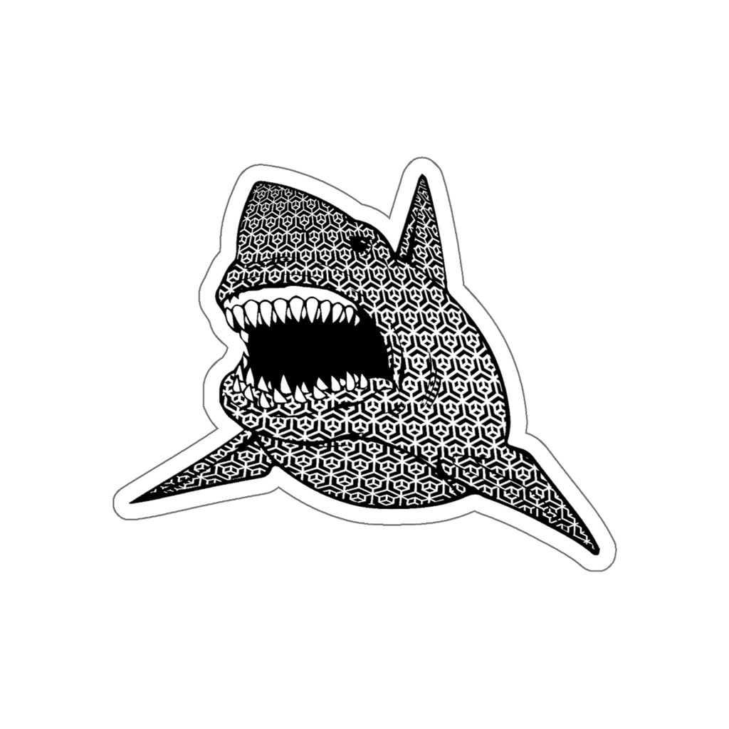 SACRED SHARK STICKER