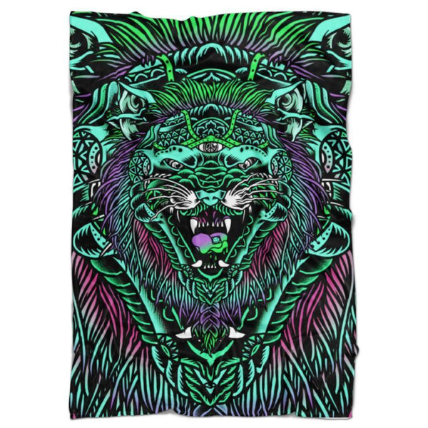 ACID TIGER BLANKET-Set 4 Lyfe Apparel