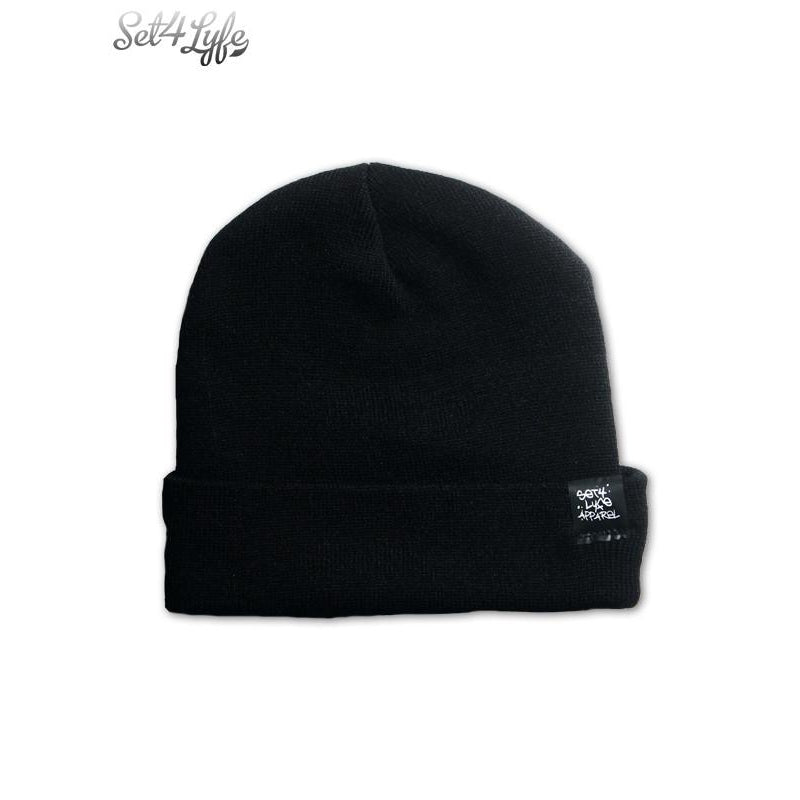 YAYO BLACK LONG TOQUE