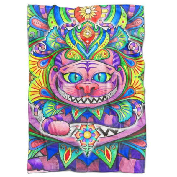 Set 4 Lyfe / Dayno - CHESHIRE CAT BLANKET - Clothing Brand - Blanket - SET4LYFE Apparel