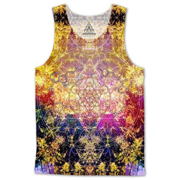 Set 4 Lyfe / DAQUALIA - PINEAL METATRON DMT TANKTOP - Clothing Brand - Premium Tanktop - SET4LYFE Apparel