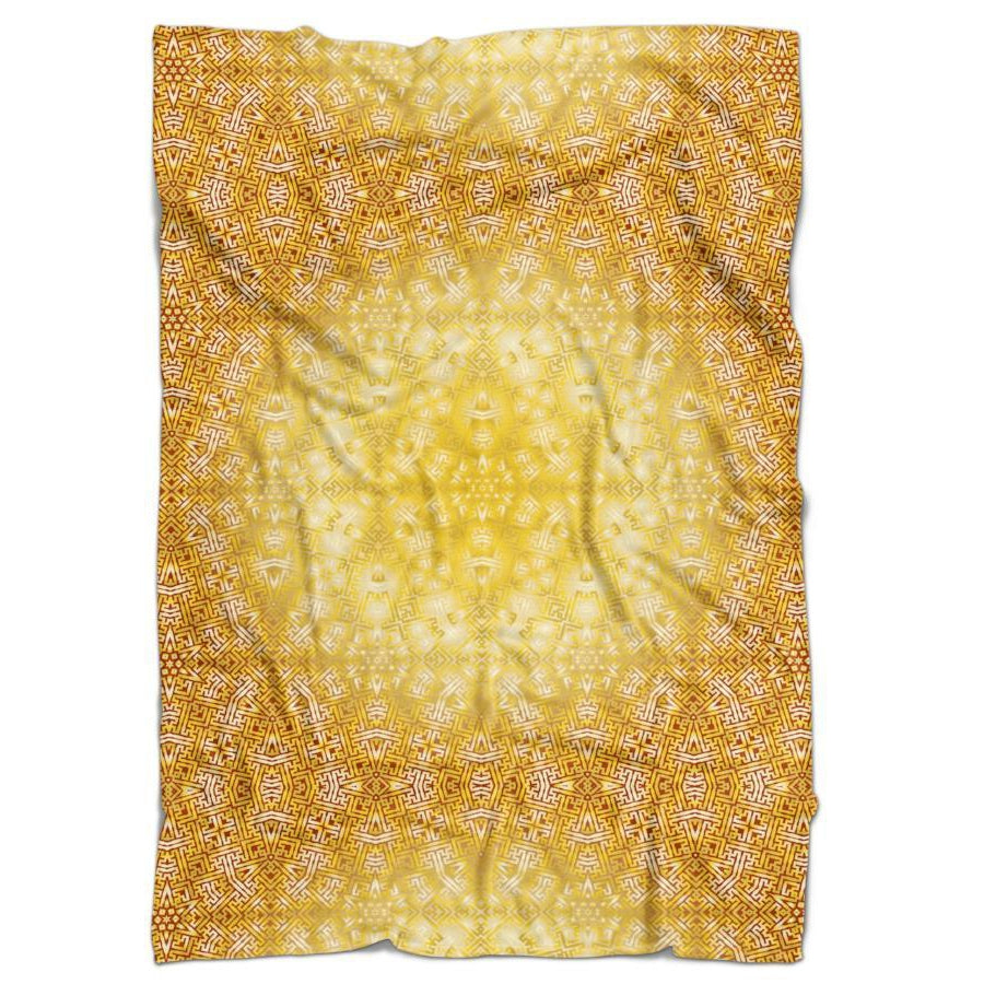 Set 4 Lyfe - GOLDEN STAR SAYAGATA BLANKET - Clothing Brand - Blanket - SET4LYFE Apparel
