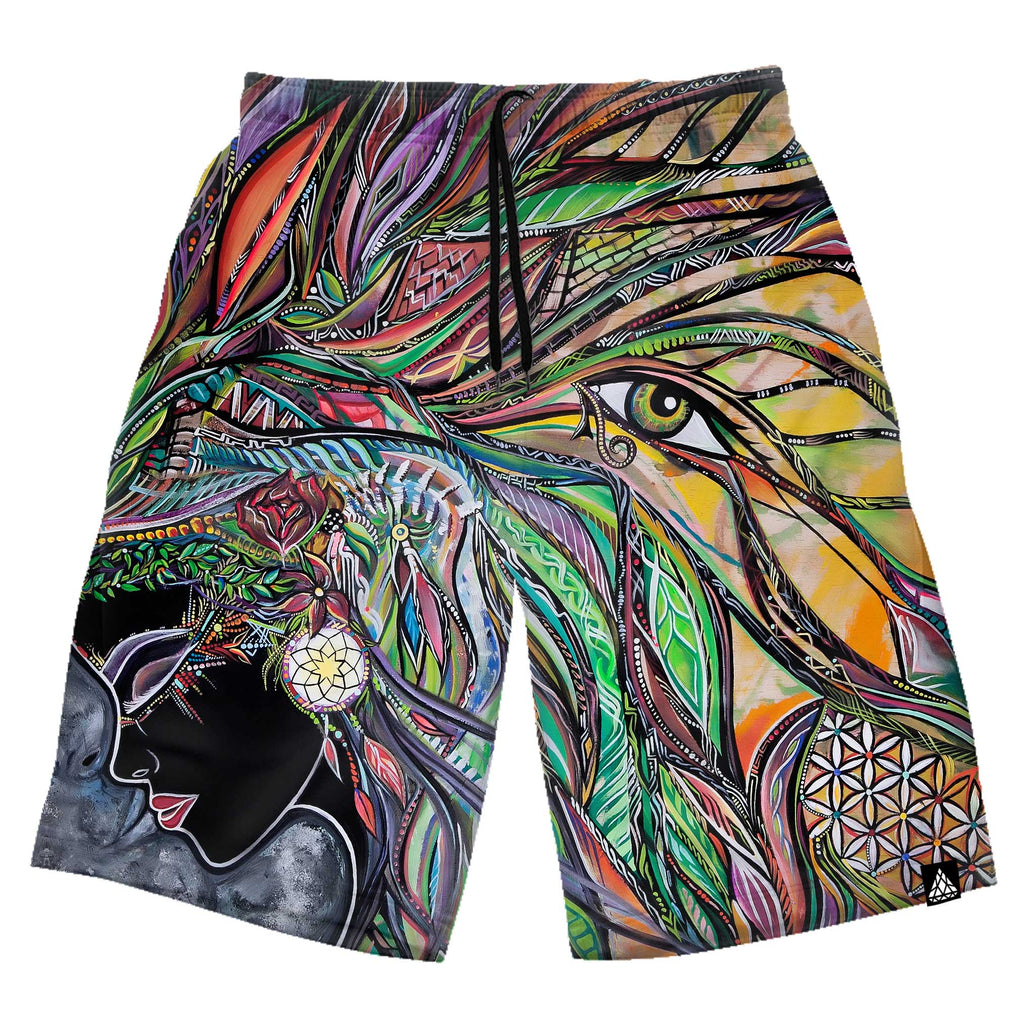 NEON SYNCHRONICITY SHORTS