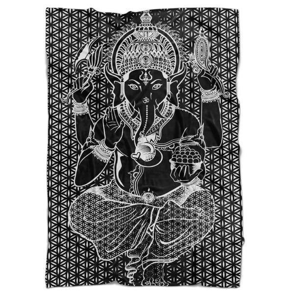 Set 4 Lyfe / Rooz Kashani - SACRED GANESHA BLANKET - Clothing Brand - Blanket - SET4LYFE Apparel