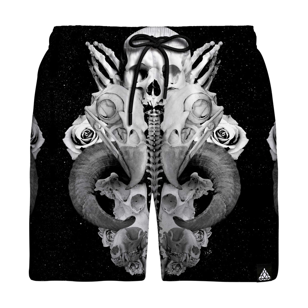 BROKEN BONES SWIM TRUNKS