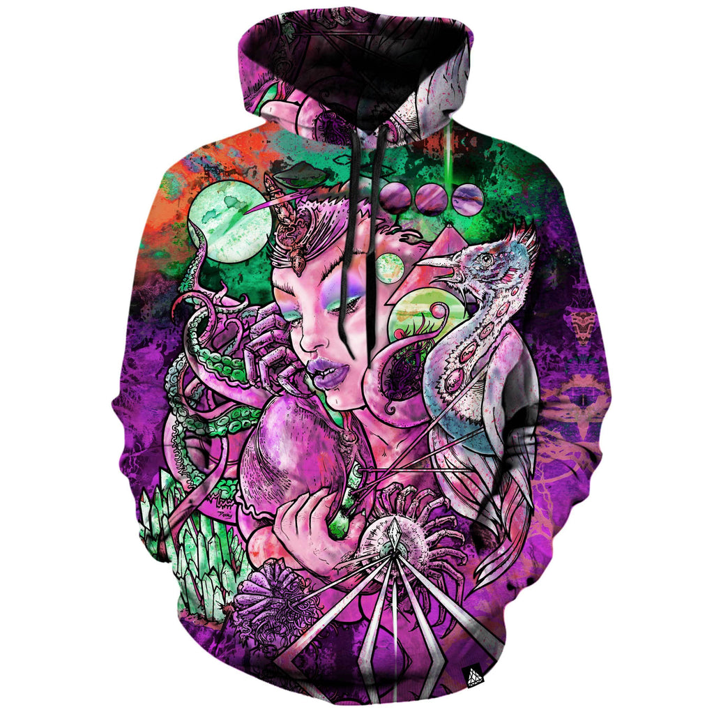CRYSTAL THOUGHTS PURPLE HOODIE
