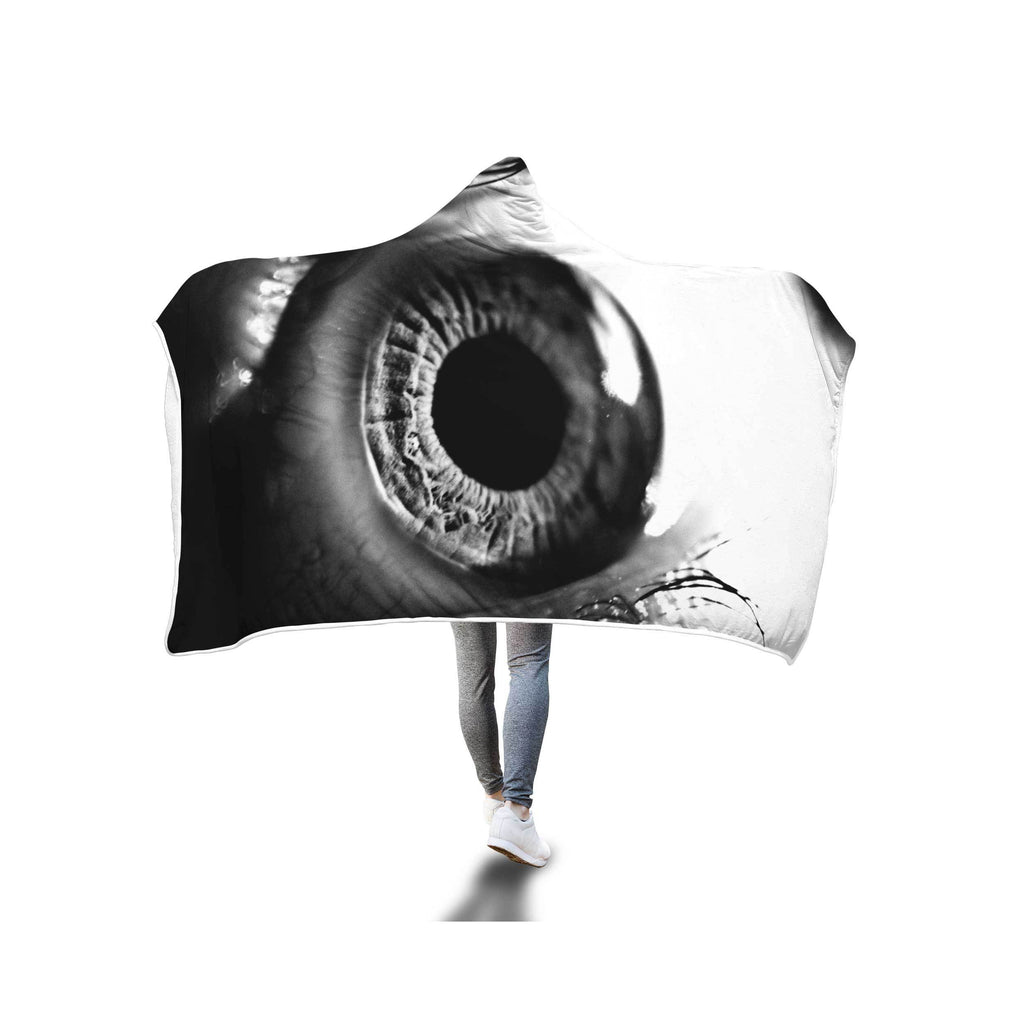 EYE OF MATTAIO HOODED BLANKET