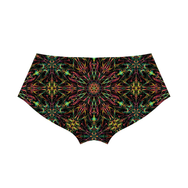 FUTURE MANDALA BOOTY SHORTS