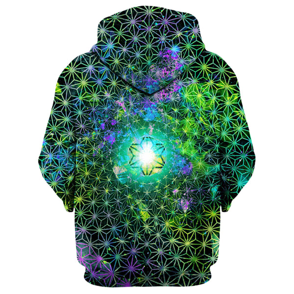 MAJESTIC NEON LIME HOODIE