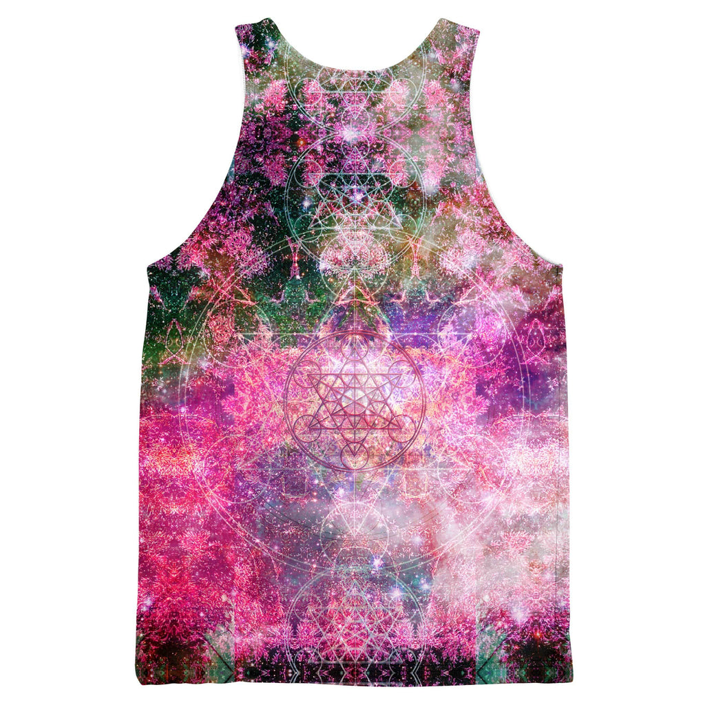 PINEAL METATRON GALAXY TANKTOP