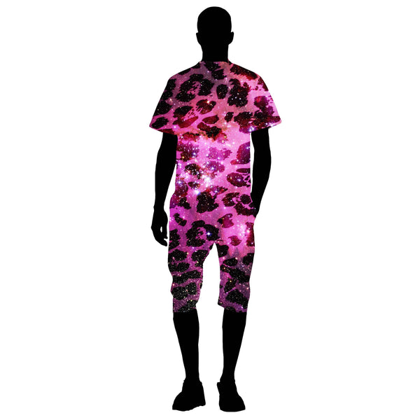 SPACE LEOPARD MAN ROMPER