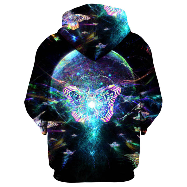 SPACE MIGRATION TRIPZY LEARY ZIP UP HOODIE