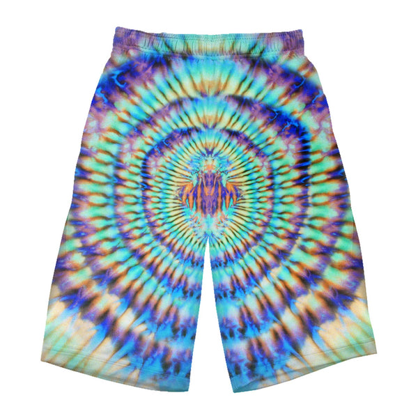 TROPICAL SPIRIT SHIELD LONG SHORTS