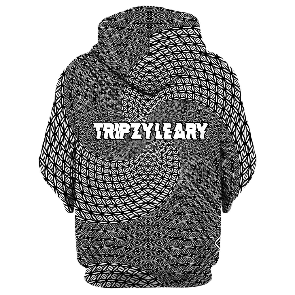 TRIPZY LEARY ZIP UP HOODIE