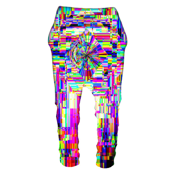 ABSTRACT GLITCH DROP PANTS