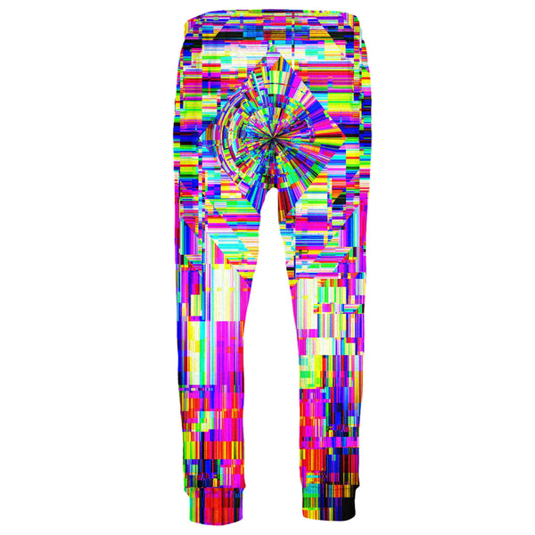 ABSTRACT GLITCH JOGGERS