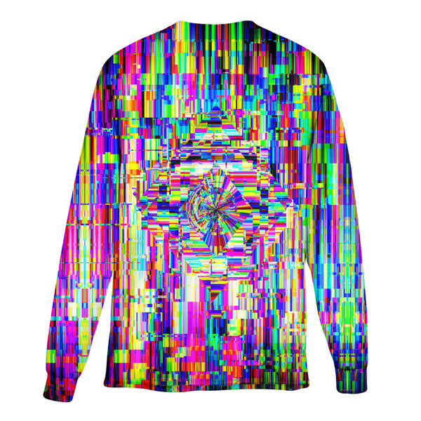 ABSTRACT GLITCH LONG SLEEVE T