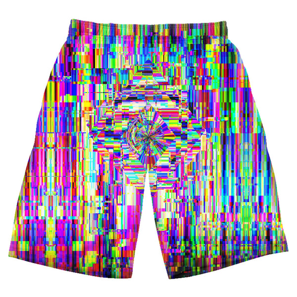 ABSTRACT GLITCH SHORTS