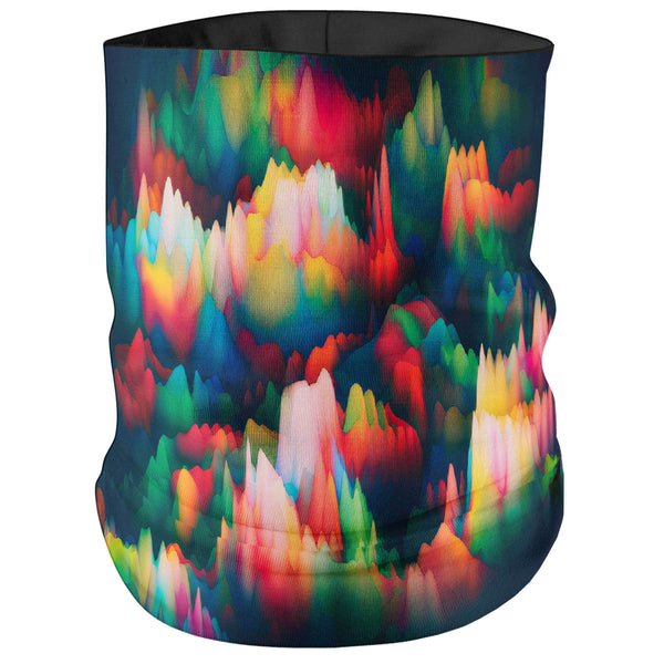 ABSTRACT WAVES BANDANA MASK