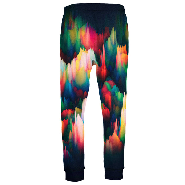 ABSTRACT WAVES JOGGERS