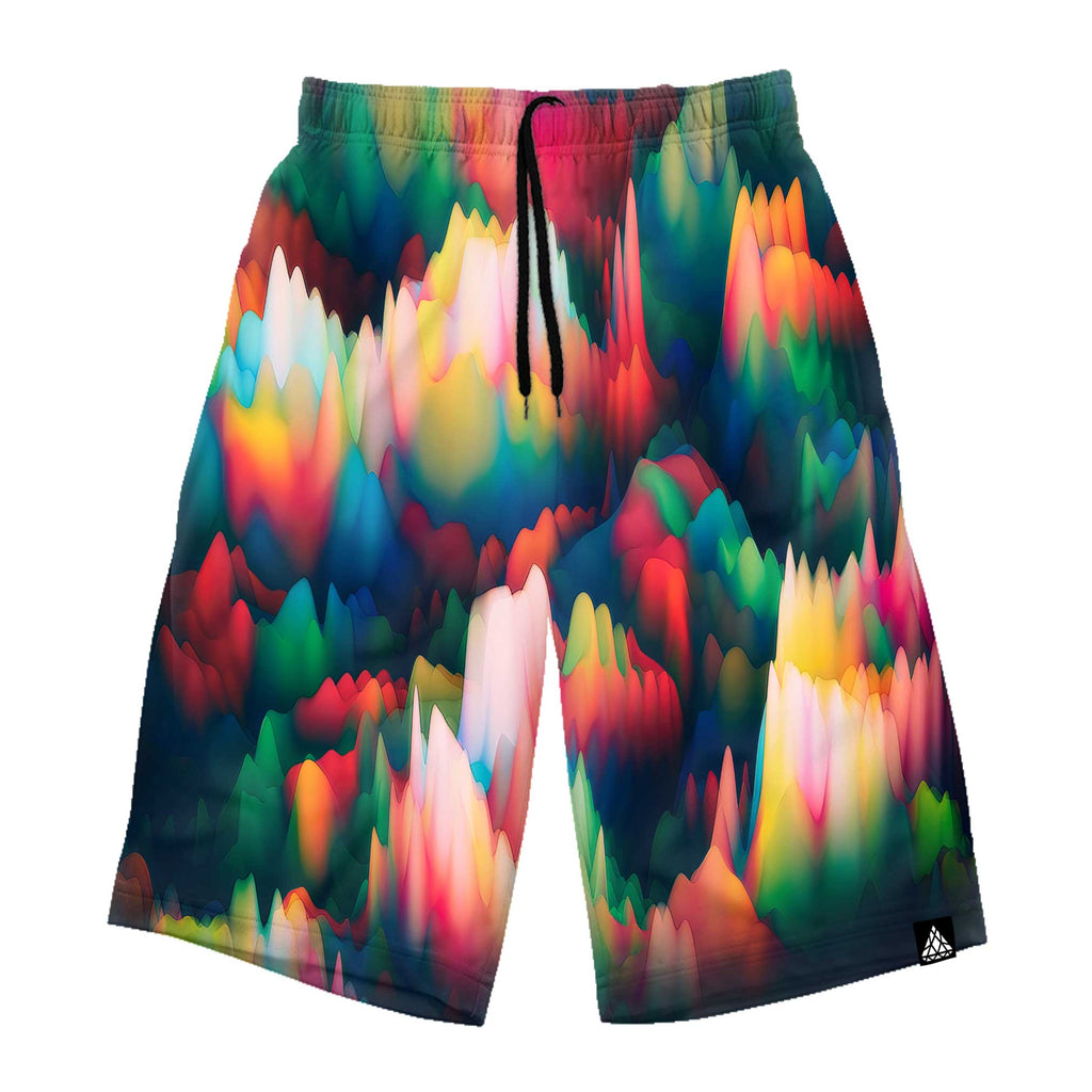 ABSTRACT WAVES LONG SHORTS