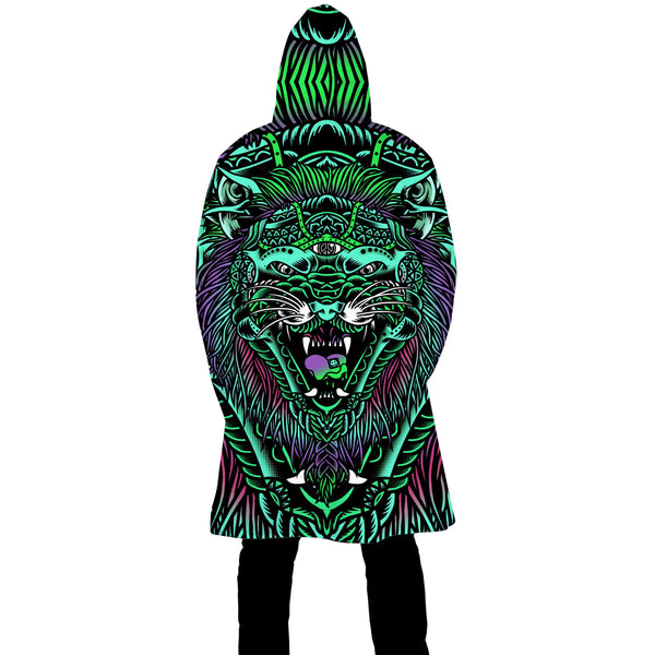 ACID TIGER ZIP UP CLOAK