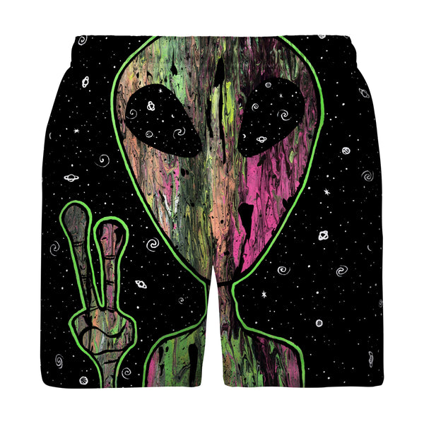ALIEN SPACE SWIM TRUNKS