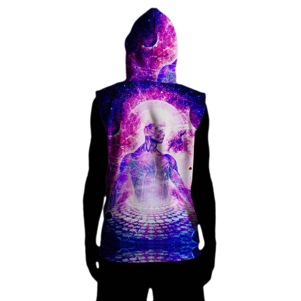 ARCHITECT SLEEVELESS HOODIE