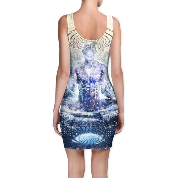 AWAKE COULD BE SO BEAUTIFUL BODYCON DRESS