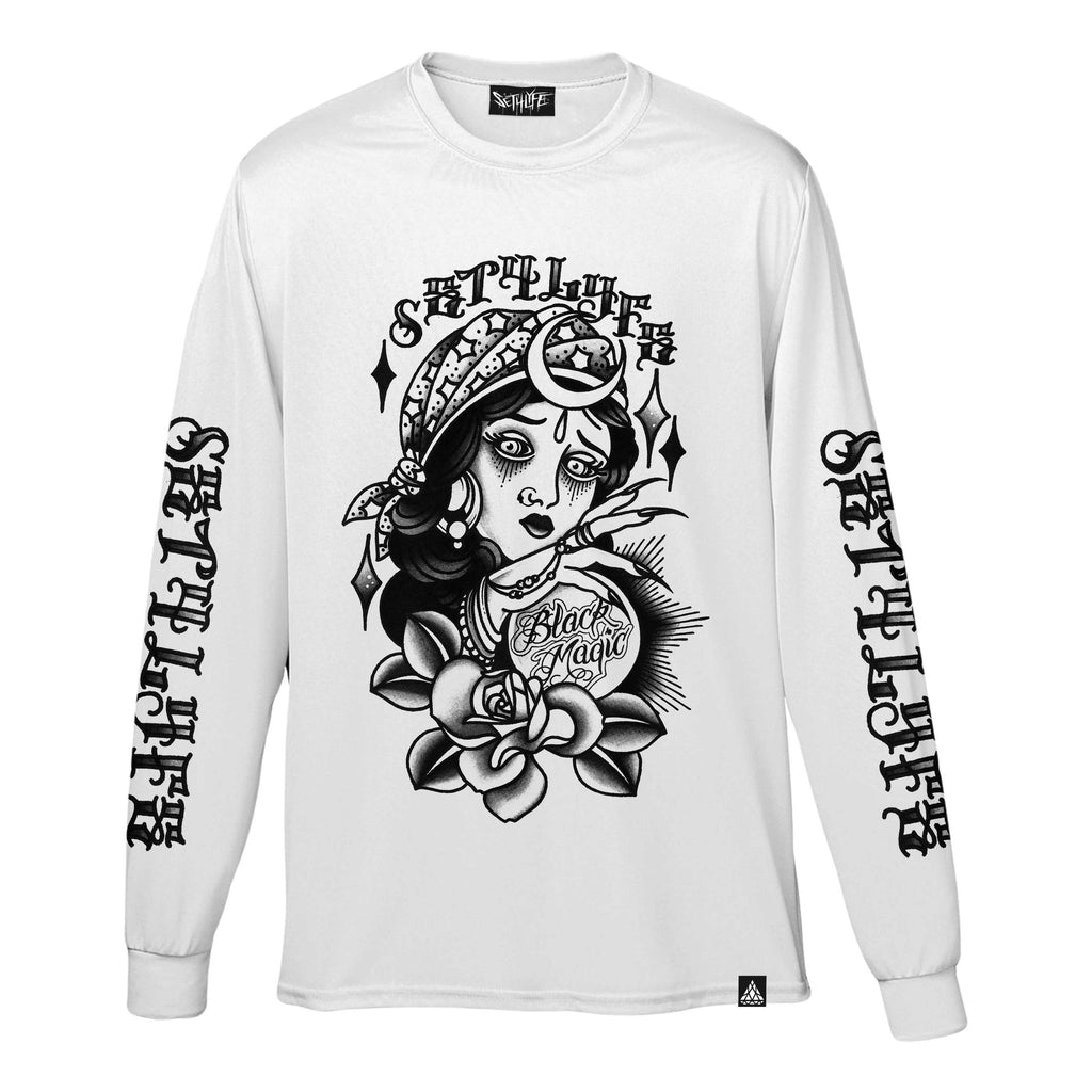 BLACK MAGIC GRAPHIC LONG SLEEVE T