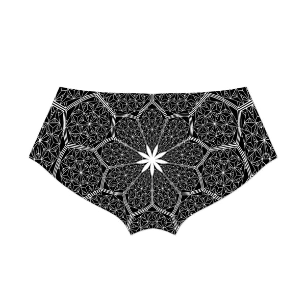 COSMIC HONEYCOMB BOOTY SHORTS
