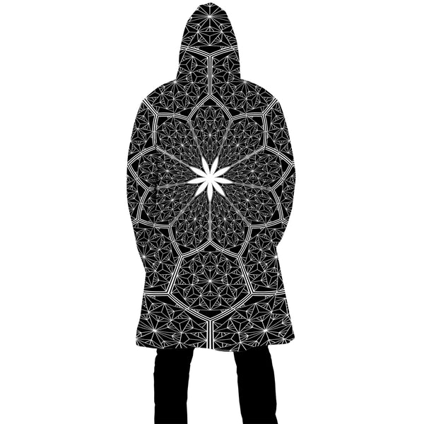 COSMIC HONEYCOMB ZIP UP CLOAK