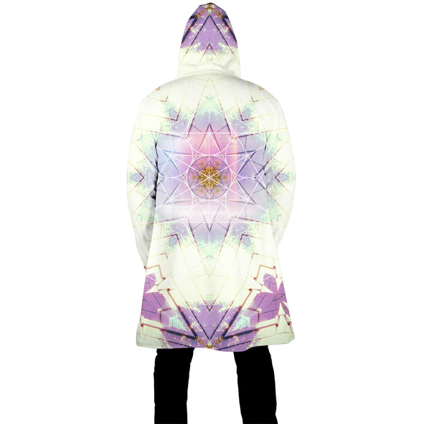 COTTON CANDY & LAVENDER ZIP UP CLOAK
