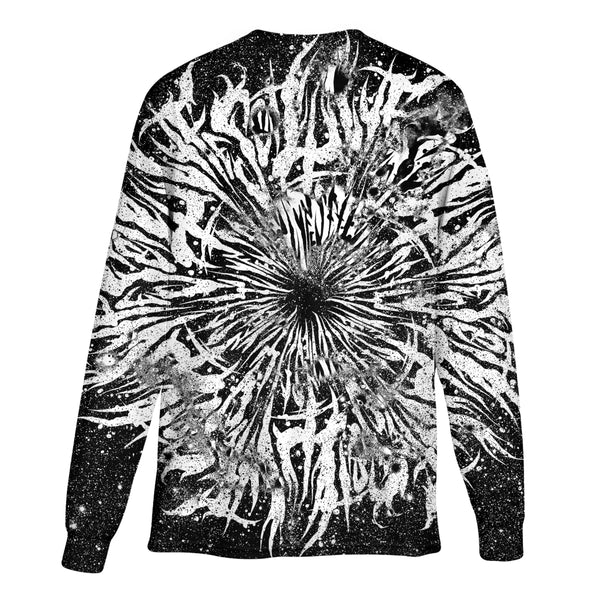 DARK GRIME MANDALA LONG SLEEVE T