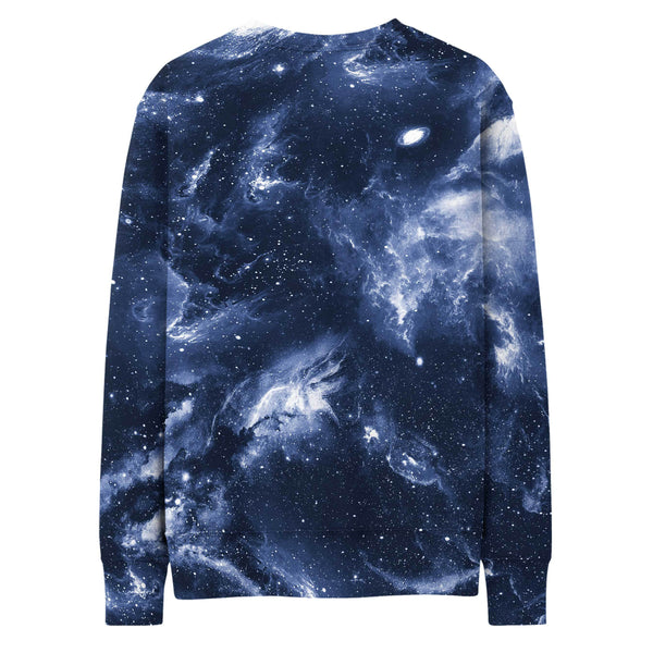 DEEP BLUE SPACE SWEATSHIRT