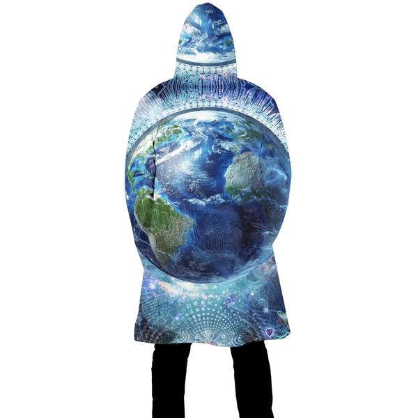 EARTH ZIP UP CLOAK