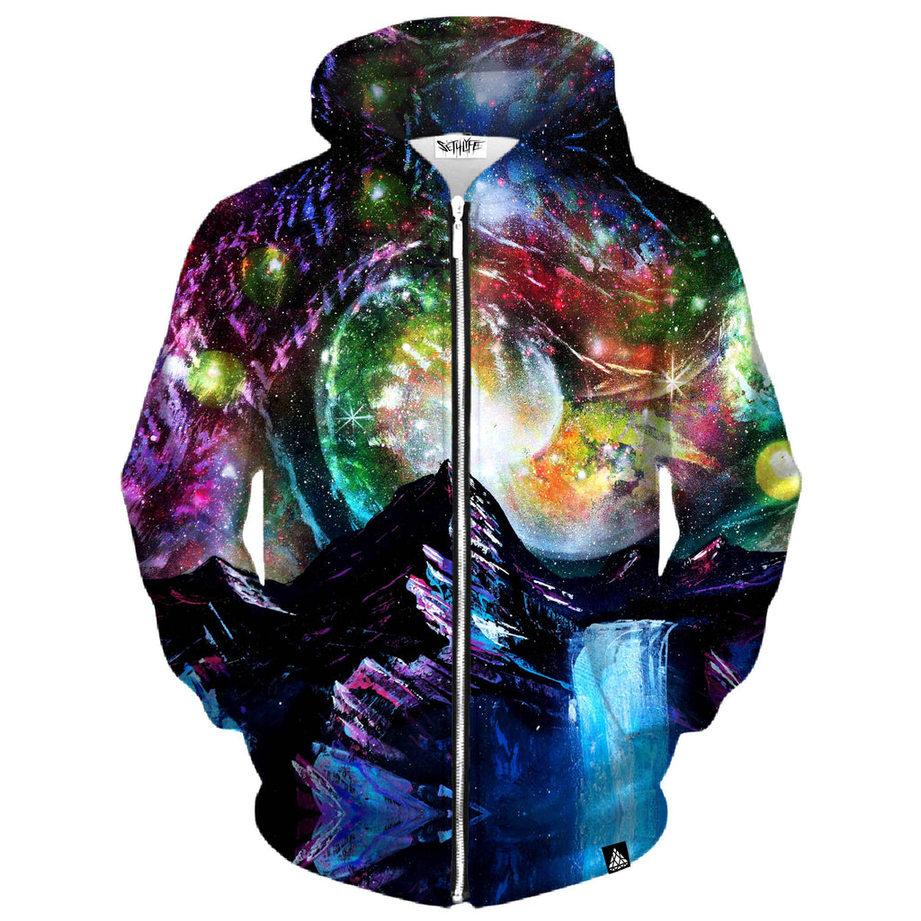 ELEVATE SPACE ZIP UP HOODIE