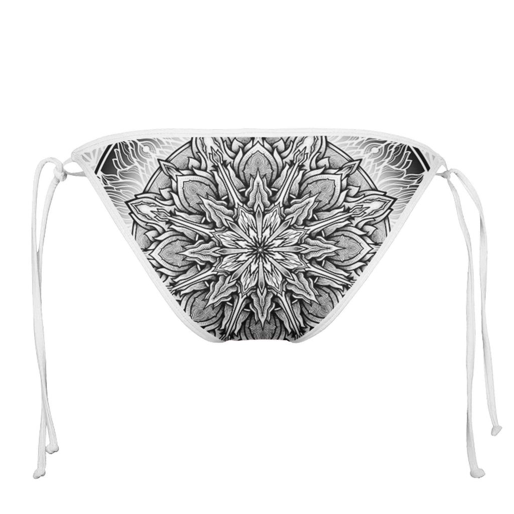 EMPIRE WHITE STRING BIKINI BOTTOMS