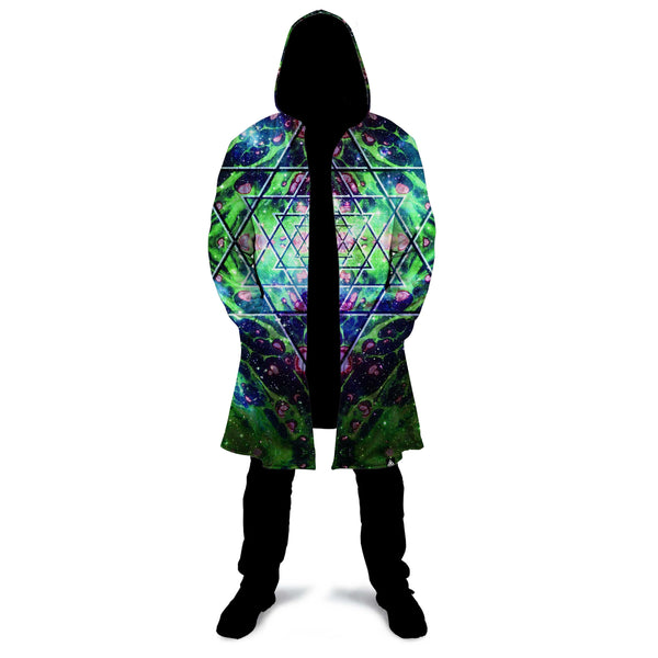 ENLIGHTENED EARTH ZIP UP CLOAK